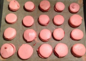 selbstgemachte Macarons
